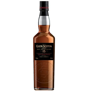 Whisky Campbelton Single Malt Glen Scotia 15 Ans 46% 70cl