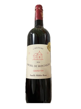 Bergerac Rouge Chateau Michel De Montaigne 2016