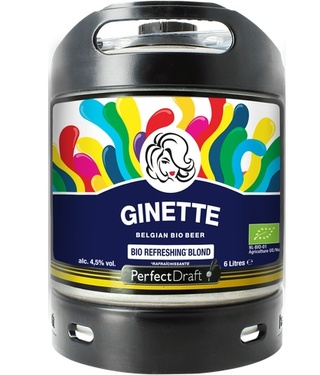 Perfect Draft 6l Ginette Lager Bio 4,5%