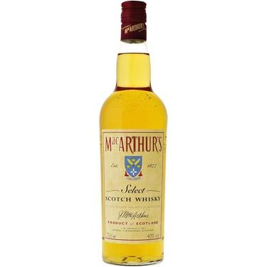 Whisky Ecosse Blend Mac Arthur's Select 40% 70cl