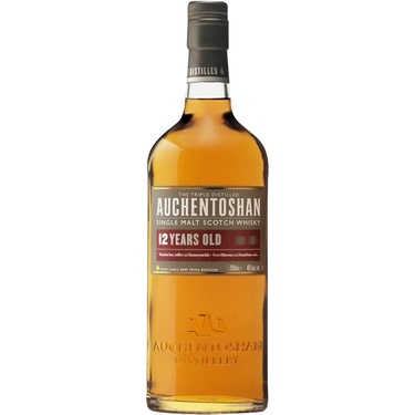 Whisky Ecosse Lowlands Single Malt Auchentoshan 12 Ans 40% 70cl