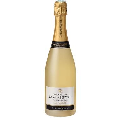 Champagne Bijotat Brut Blanc De Blancs 100% Chardonnay Proprietaire Recoltant