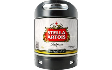 Perfect Draft 6l Belgique Stella Artois 5%